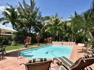 Photo for Private Villa Espagna Oasis @ Ft Laud..Beach: Private House (HUGE POOL)!!