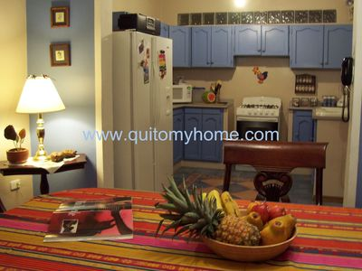 Photo for SANITIZED 100% - APARTMENT, Metropolitan Quito Area! English, French and Spanish