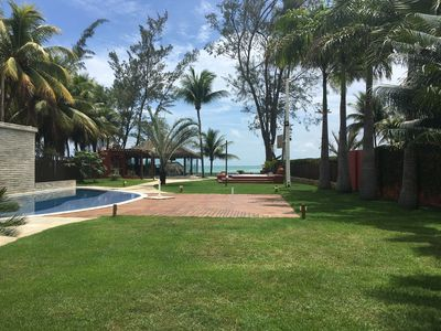 Photo for Luxury house with swimming pool on the seafront of Serrambi