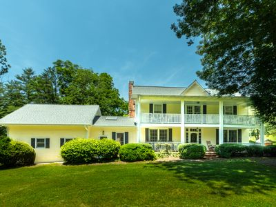 Photo for Asheville's Southern Gem on 15 acres, with Barn, creek & hiking trails!
