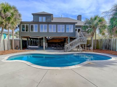 Photo for Private Saltwater Pool! Private Dock w/ Kayaks