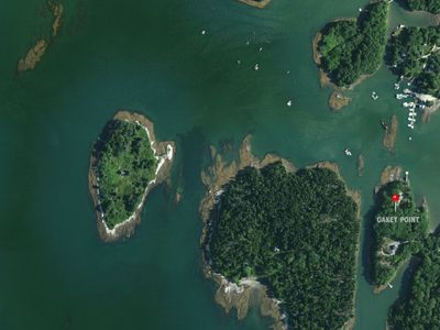 Photo for Waterfront Private Estate Located on 5-Acre Peninsula with Dock and Mooring