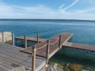 Photo for Relaxing Lakefront Retreat 3BR 2BA Cottage on Colpoys Bay