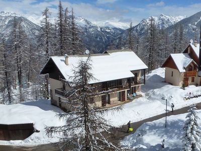 Photo for Rental 8 people in chalet, in the resort of Risoul