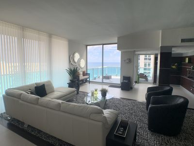 Photo for Beachfront Hollywood Penthouse -Direct Ocean Views