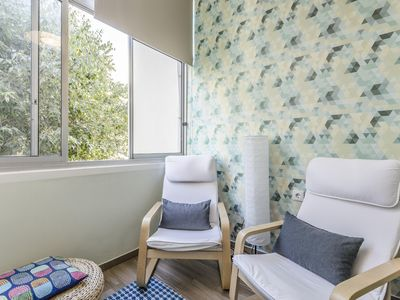 Photo for Novas Central Flat I apartment in University Zone with WiFi, balcony & lift.