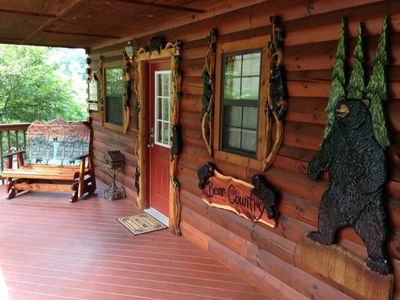 Photo for Beautiful cabin in Hidden Springs Resort- 1 mile from Dollywood