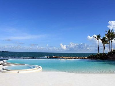 Photo for An Iconic Casa de Campo Oceanfront Villa, Full Staff, AC, Huge Pool, Free Wifi