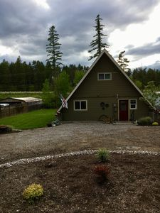 Photo for Nice A-frame style house sitting just minutes away from Whitefish, MT.
