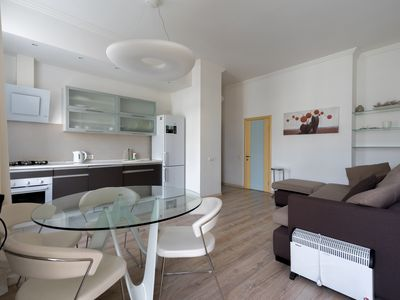Photo for Modern - Spacious - Sunny 1 Bedroom next to Olympiskiy Stadium