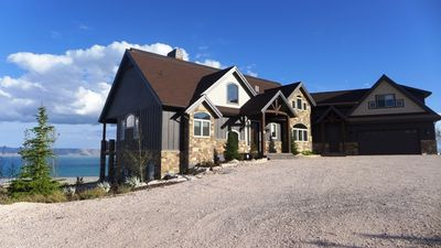 Photo for Gorgeous New Home With Amazing View Of Bear Lake