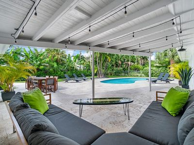 Photo for The Oasis: A Beautiful Smart home by the Beach