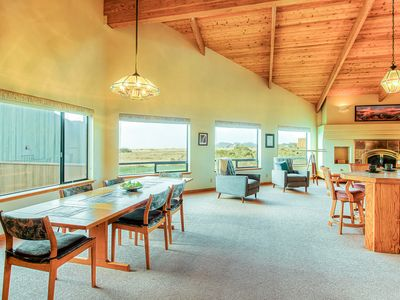 Photo for Ocean/meadow view home w/ private hot tub, deck & shared pools, saunas & tennis!
