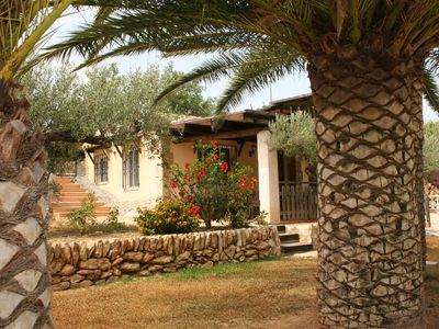 Photo for La Cochera, in the palm garden, ideal in winter and summer