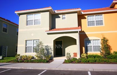 Photo for Luxury 5 bedroom home, Full Amenities, Private Pool, 10 min from Disney! 8853