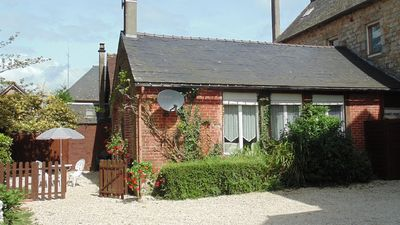 Photo for Quiet, Cosy Cottage for two, nestled in a mature garden and ideally situated.