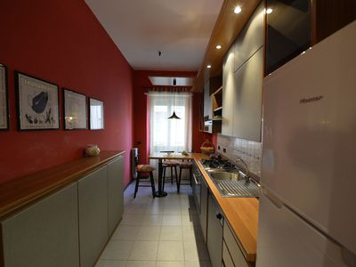 Photo for TRASTEVERE HILL'S: GOOD ITALIAN FOOD!  AIR CONDITIONED, WIFI, BALCONY,