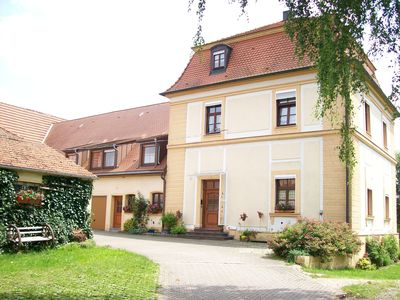 Photo for Cozy quiet apartment in the historic building near the Dennenloher See