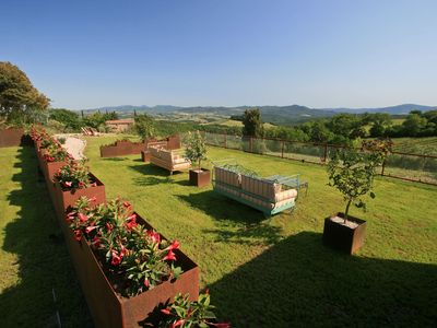 Photo for Amazing stone farmhouse a few km from Volterra