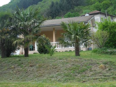 Photo for house THUEYTS located in a gd field with oleanders and palm trees