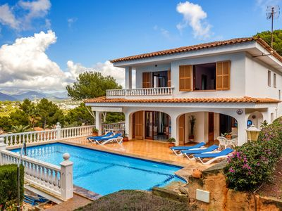 Photo for Villa with Idyllic Location and Sea View - Villa Montsita