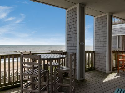 Photo for Crystal Shores 202: Oceanfront condo, community pool, elevator and grilling area.