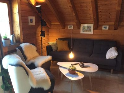 Photo for * Adventure Apartment * Guest suite with sauna and fireplace