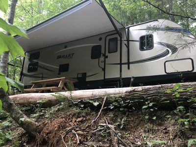 Photo for Take A Shot In The Smokies With Our Bullet RV