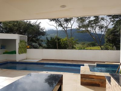 Photo for House in the mountains of Atibaia with heated pool and spa