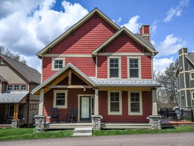 Photo for Centrally located, Craftsman-style home with a hot tub!