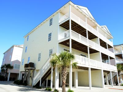 Photo for STUNNING OCEAN VIEWS from all 3 Balconies! TOP LOCATION Pier*Pool*Grills*Wifi!