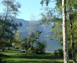 One of the lake views from cabin.