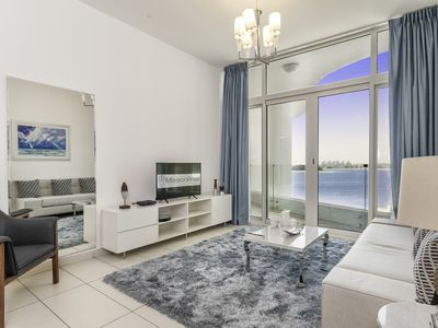 Photo for Luxury Sea View 1 BR apartment in Royal Bay Palm Jumeirah