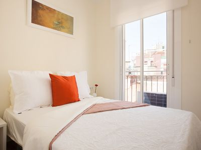 Photo for SM71 -1 Minute from Beach - 2-Bedroom, Balcony, Dressing Room, WIFI, Fully Equip