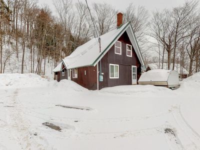 Photo for Dog-friendly cabin w/ firepit & full kitchen - kayaks available in summer