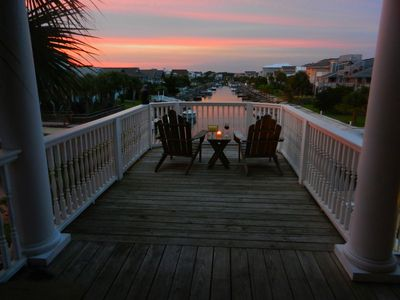 Photo for Upscale Canal Home a Block from the Beach; Elevator, Boat Dock with Kayaks