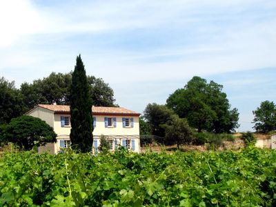 Photo for Grande Bastide Provencal no neighbors, quiet stay, sports, wine