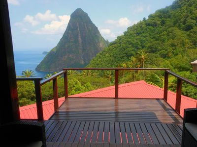 Photo for Elegant Villa Located on the Gros Piton, World Heritage Site