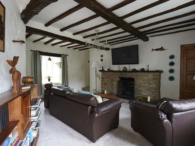 Photo for A beautiful family holiday cottage with lots of character in an idyllic village