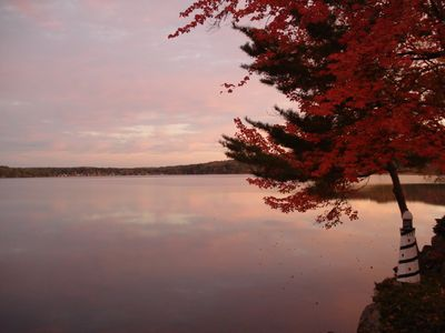 Photo for Stunning Lake House on Beautiful Webster Lake, Perfect for your Fall Get-Away.