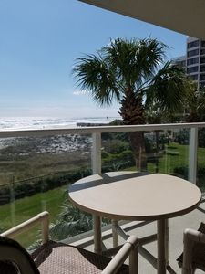 Condo has direct access to beach