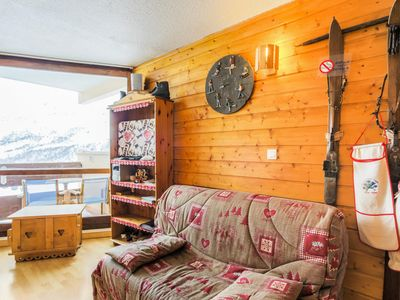 Photo for Beautiful ski-in ski-out apartment in Les Menuires - Maeva Individual - 2 room apartment 6 people Budget