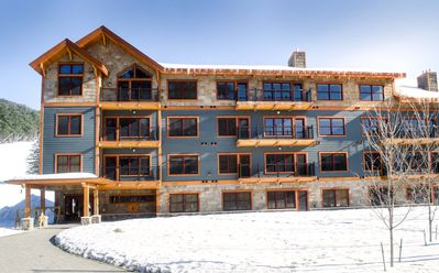 Photo for Brand new SKI IN/SKI OUT Kearsarge Brook Condo 3 bed, 2 bath at Cranmore Mt
