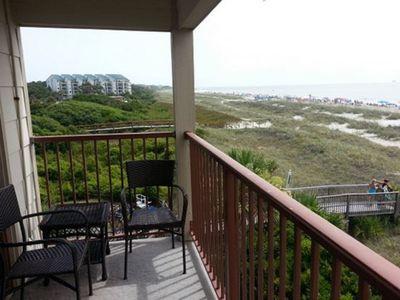 Photo for Panoramic View for miles on 3rd Floor Admiral's Row Corner Villa  !
