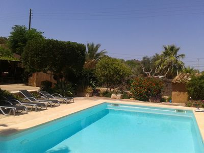 Photo for Idyllic country house in a quiet location, pool, Internet, barbecue u. Nice outlook
