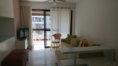 Photo for Duplex apartment - with gourmet balcony - 3/1 suite, sea view.