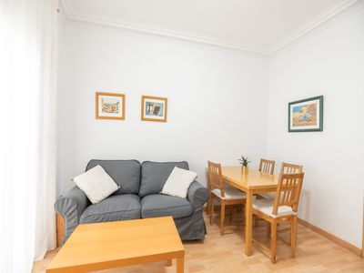 Photo for Beautiful apartment with a lot of light in the heart of Gràcia for 4