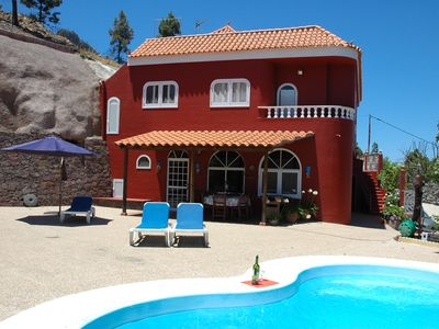 Photo for Mirador de Chira, Villa with Private Heated Pool for 7 persons, WiFi