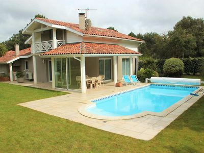 Photo for VILLA on the golf - Private swimming pool - Beaches Lake and Ocean - 10min Hossegor