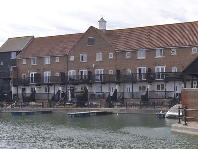 Photo for 3 floor townhouse overlooking the marina